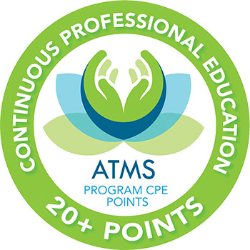 ATMS - Continuous Professional Education (20 Plus Points) Badge