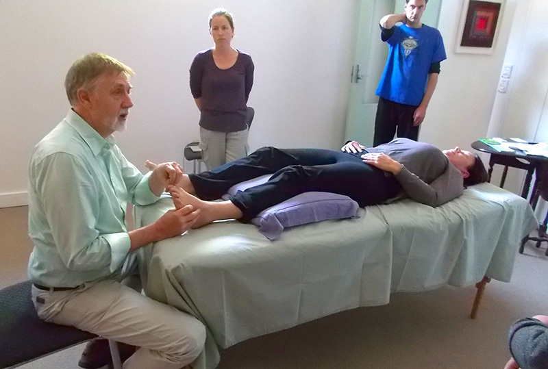 Talks and Short Courses in Acupressure